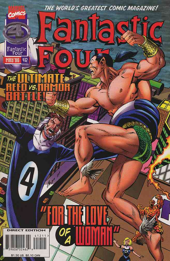 Fantastic Four (Vol. 1) comic issue 412
