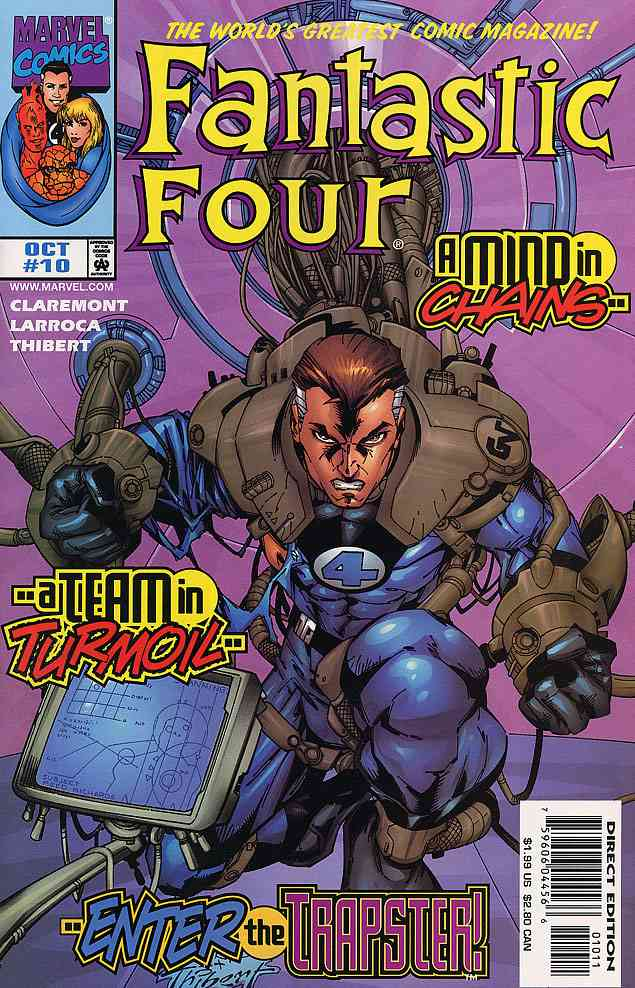 Fantastic Four (Vol. 3) comic issue 10