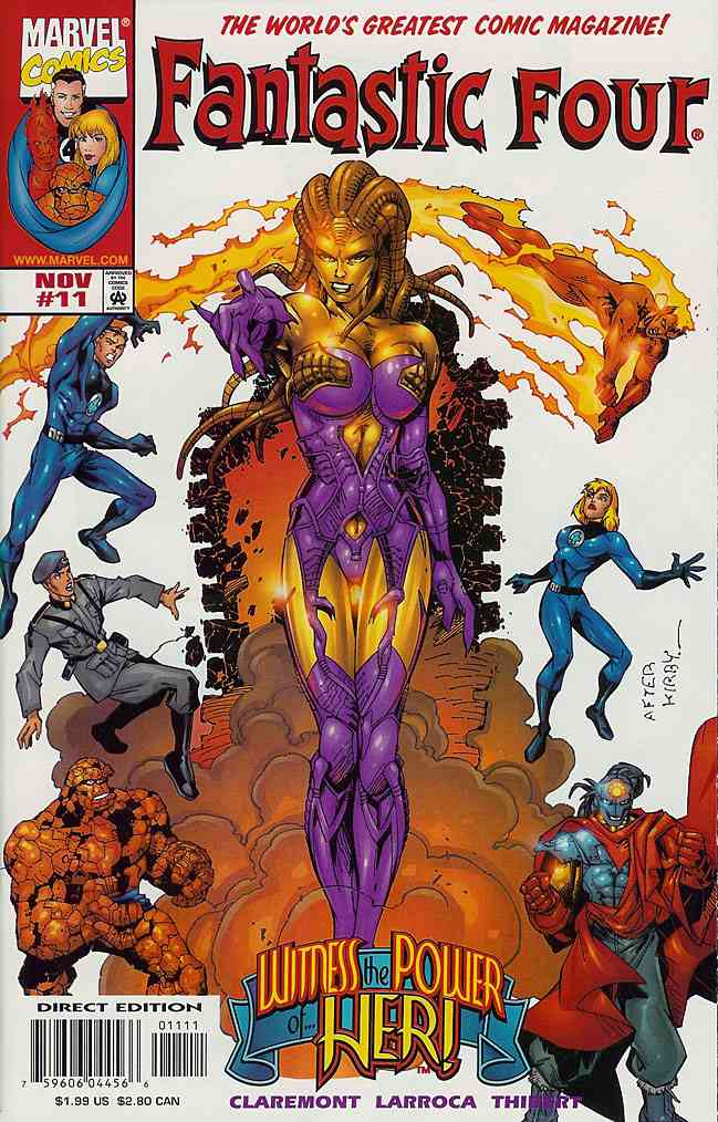 Fantastic Four (Vol. 3) comic issue 11