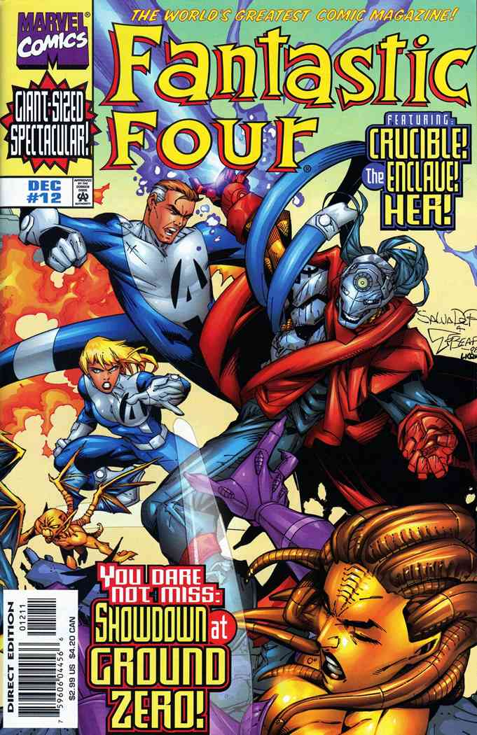 Fantastic Four (Vol. 3) comic issue 12