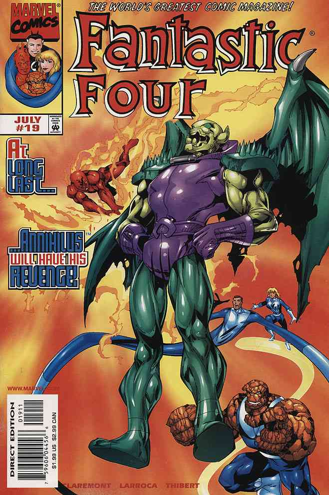 Fantastic Four (Vol. 3) comic issue 19