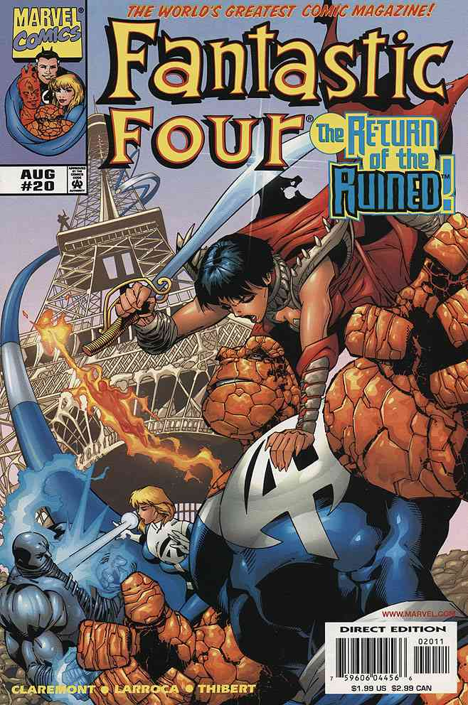 Fantastic Four (Vol. 3) comic issue 20