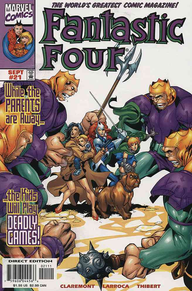 Fantastic Four (Vol. 3) comic issue 21