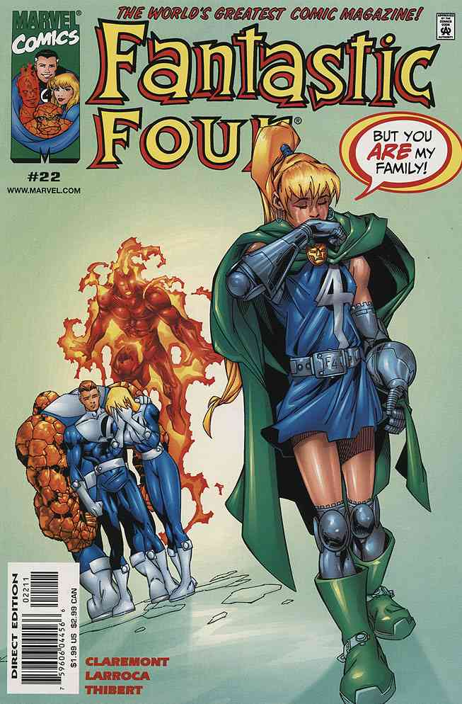 Fantastic Four (Vol. 3) comic issue 22