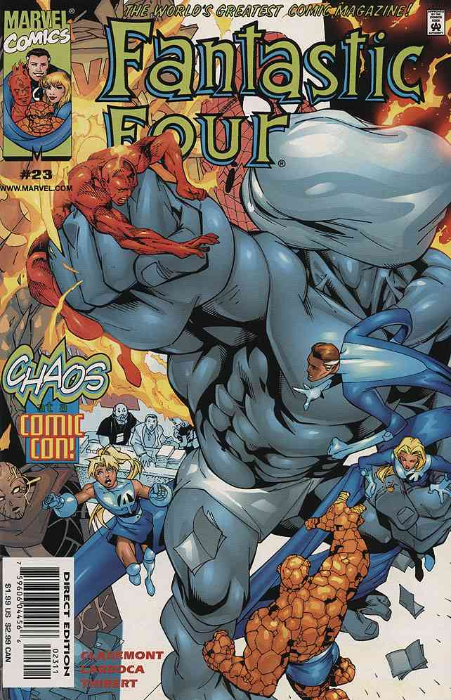 Fantastic Four (Vol. 3) comic issue 23