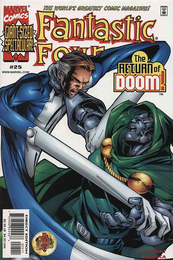 Fantastic Four (Vol. 3) comic issue 25