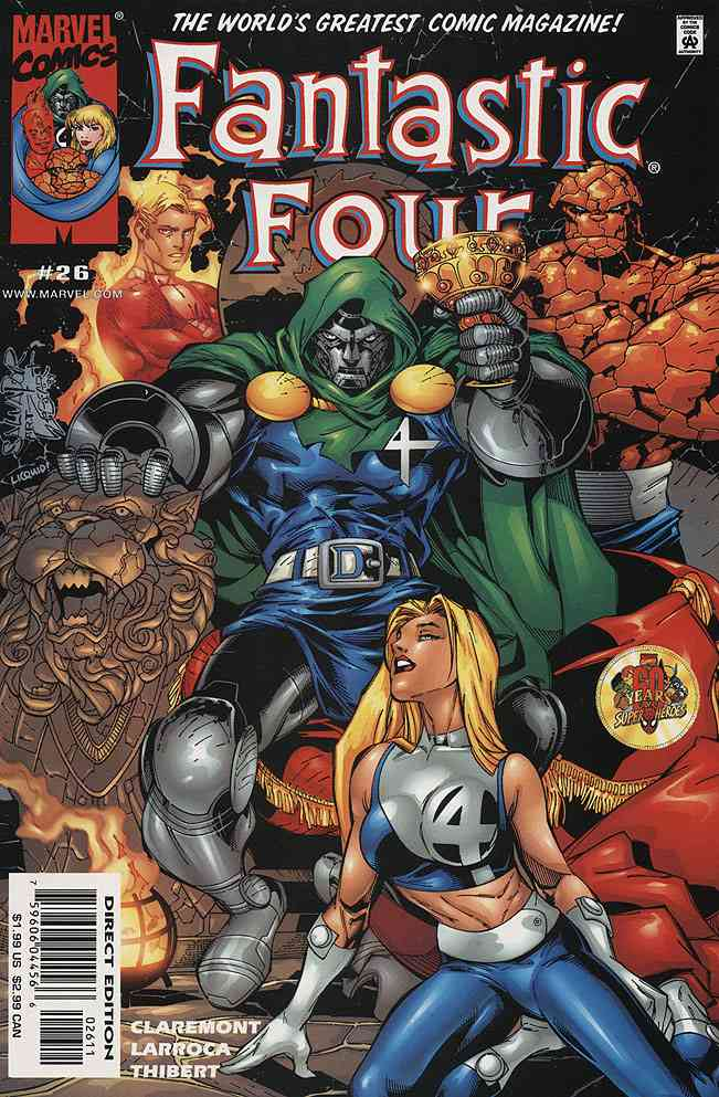 Fantastic Four (Vol. 3) comic issue 26