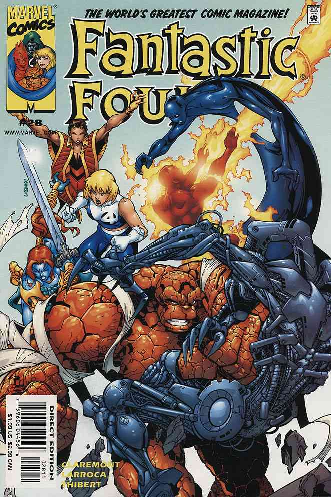 Fantastic Four (Vol. 3) comic issue 28