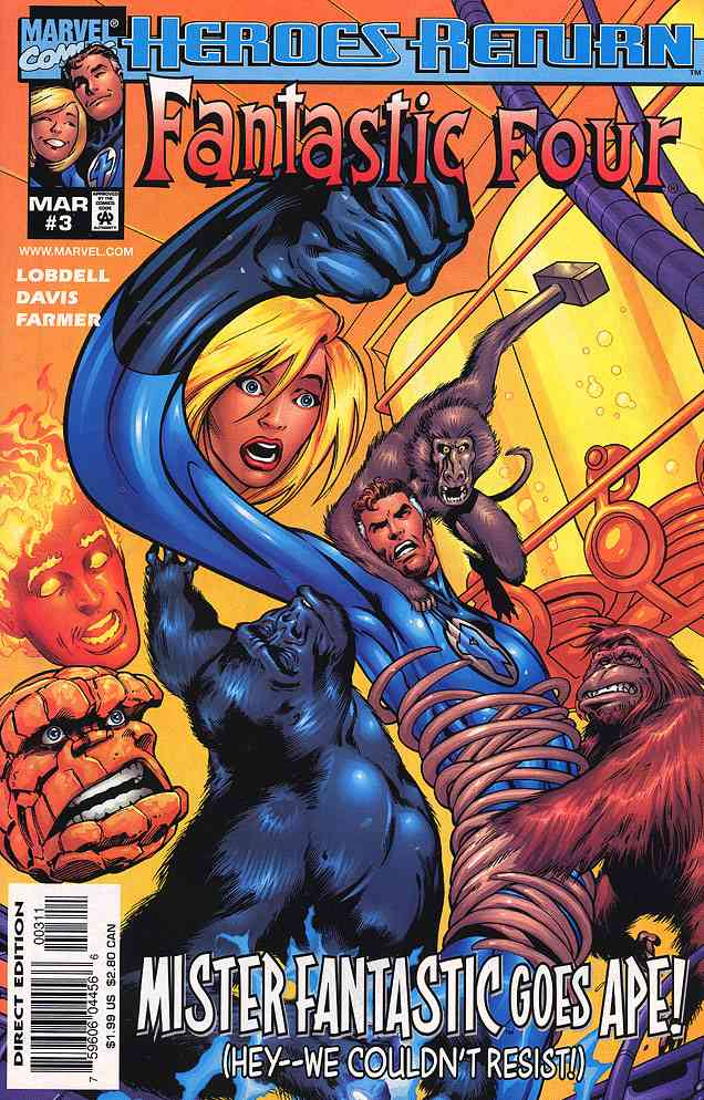 Fantastic Four (Vol. 3) comic issue 3