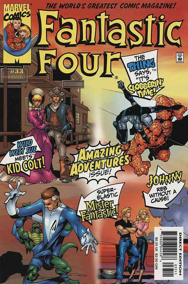 Fantastic Four (Vol. 3) comic issue 33