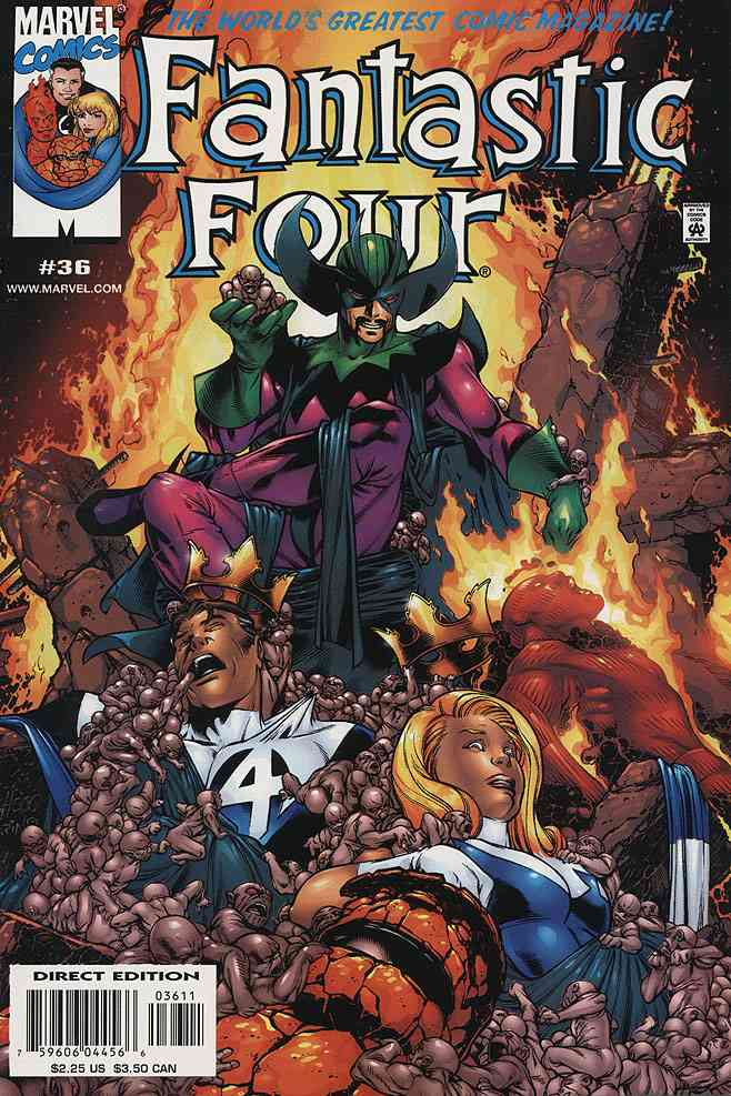 Fantastic Four (Vol. 3) comic issue 36