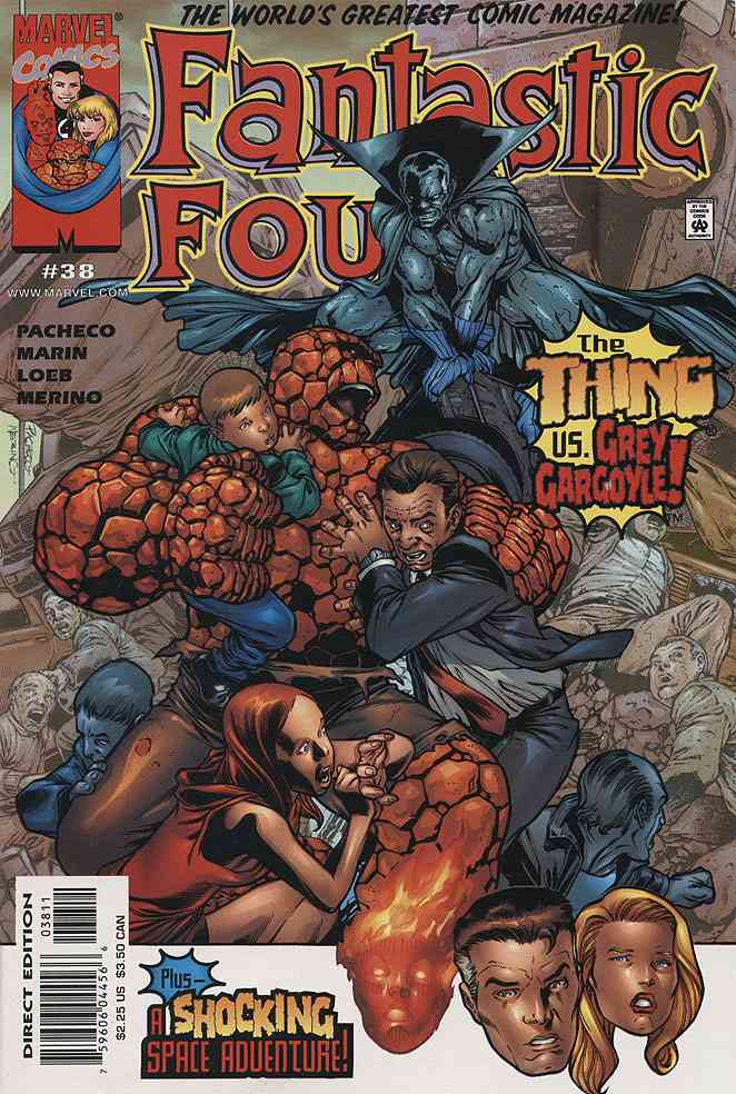Fantastic Four (Vol. 3) comic issue 38