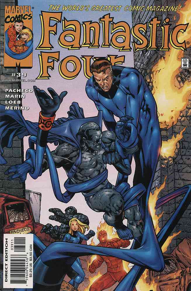 Fantastic Four (Vol. 3) comic issue 39