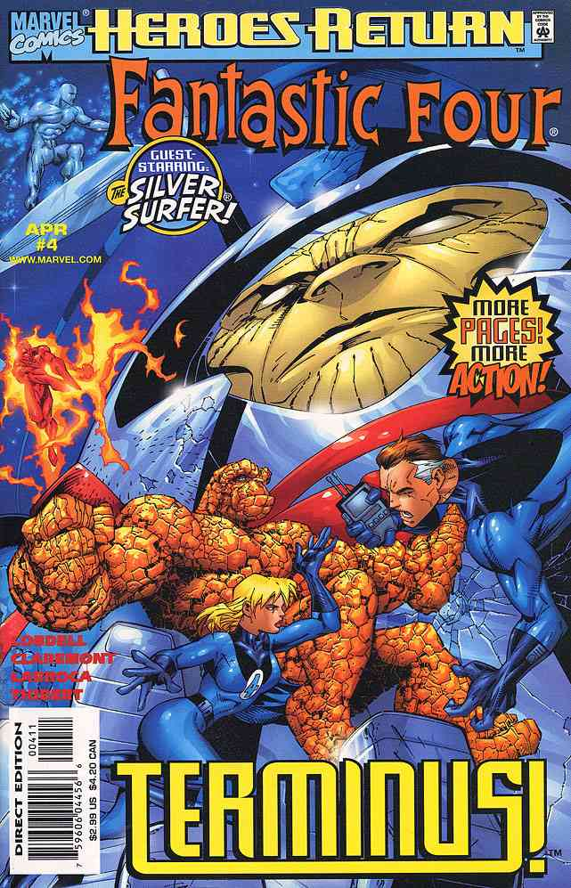 Fantastic Four (Vol. 3) comic issue 4
