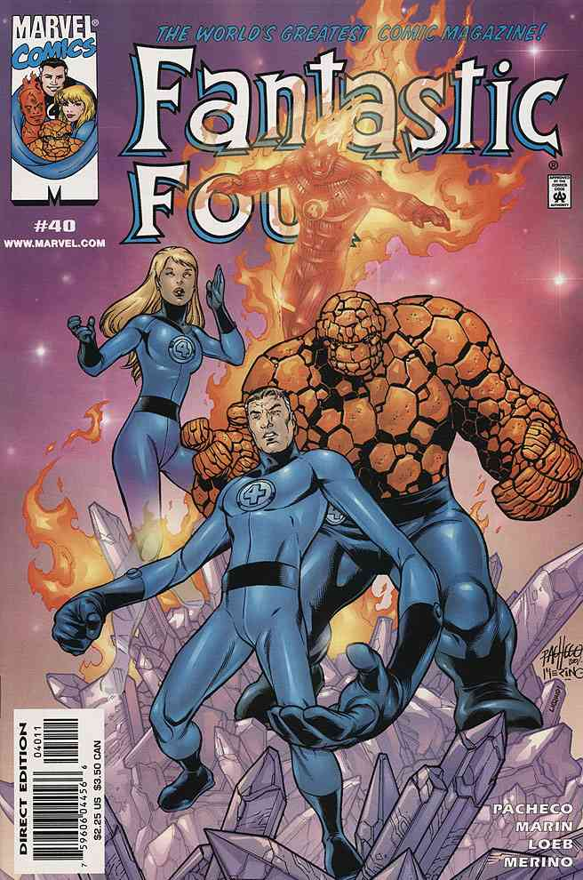 Fantastic Four (Vol. 3) comic issue 40