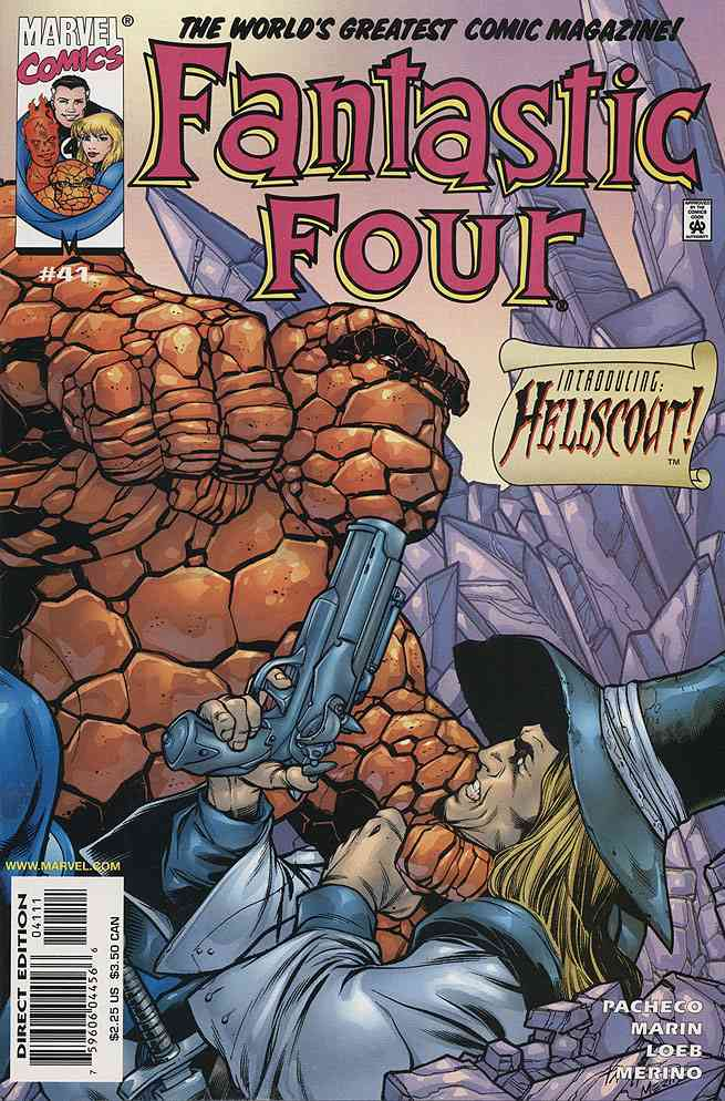 Fantastic Four (Vol. 3) comic issue 41