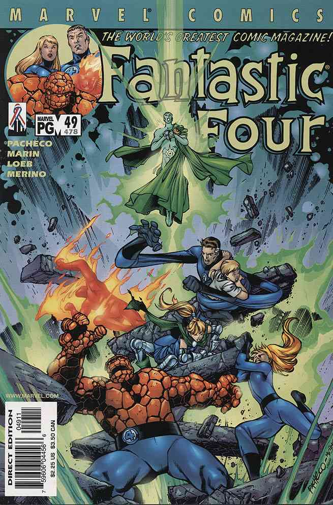 Fantastic Four (Vol. 3) comic issue 49