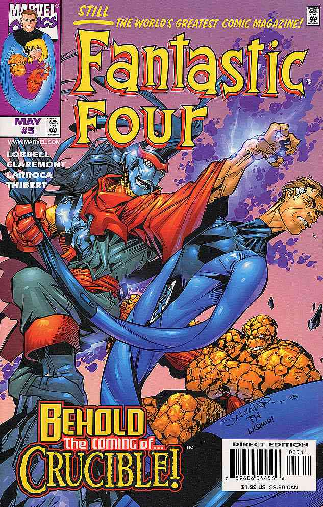 Fantastic Four (Vol. 3) comic issue 5