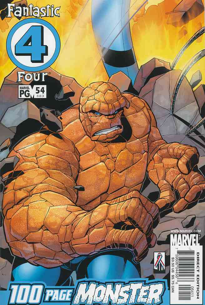 Fantastic Four (Vol. 3) comic issue 54