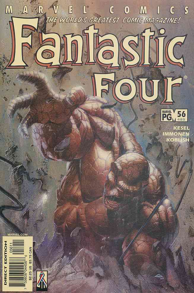 Fantastic Four (Vol. 3) comic issue 56