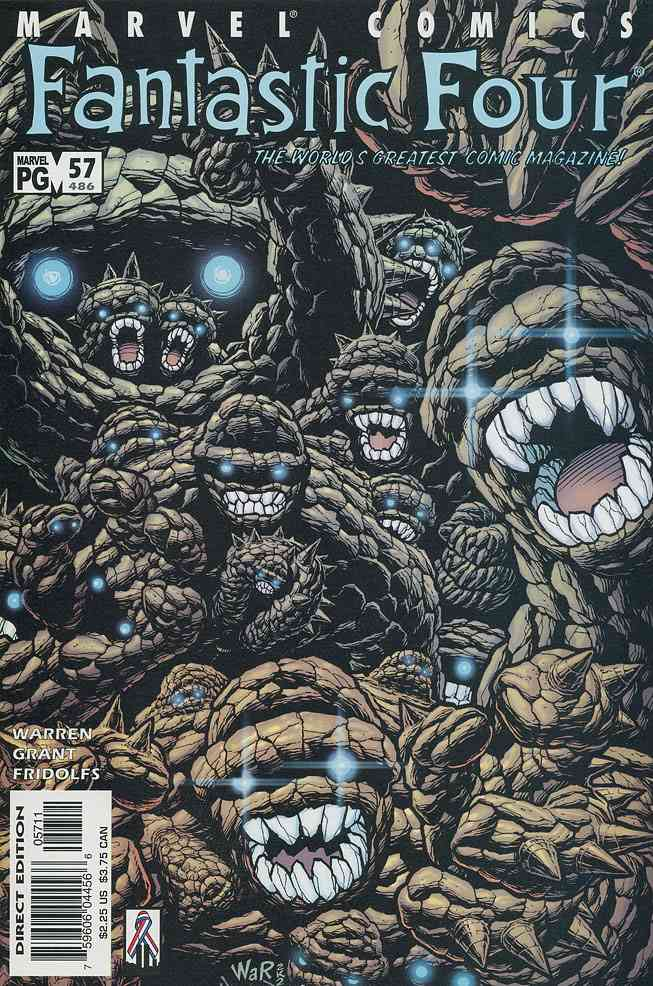 Fantastic Four (Vol. 3) comic issue 57