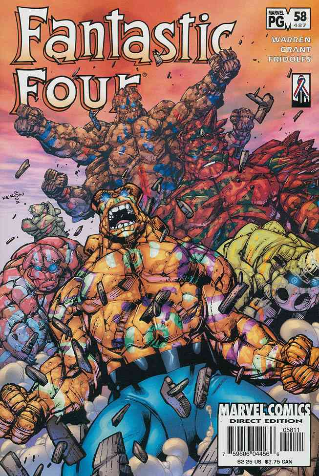 Fantastic Four (Vol. 3) comic issue 58