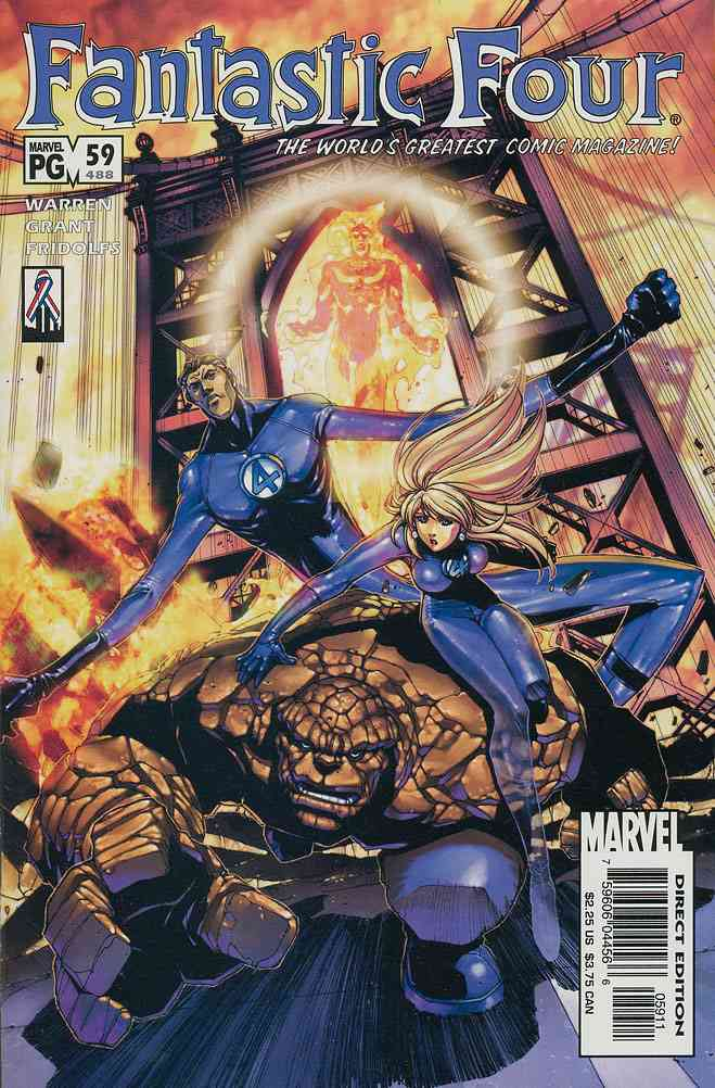 Fantastic Four (Vol. 3) comic issue 59