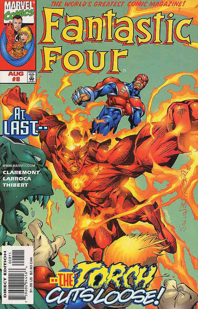 Fantastic Four (Vol. 3) comic issue 8