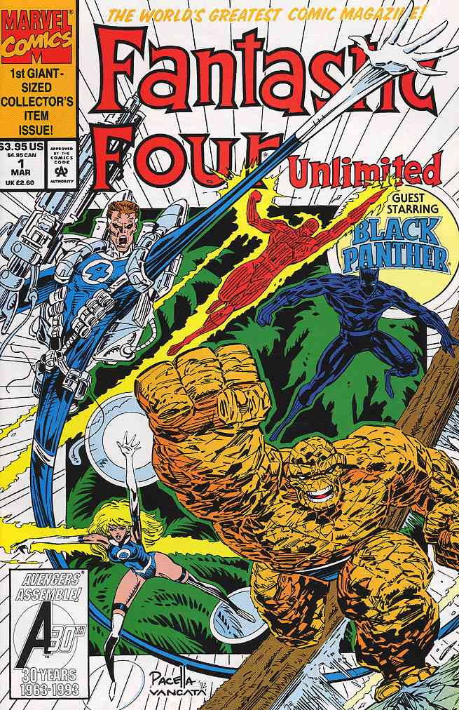Fantastic Four Unlimited comic issue 1