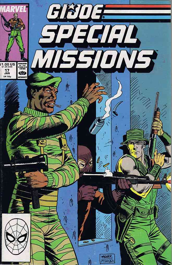 G.I. Joe Special Missions comic issue 17