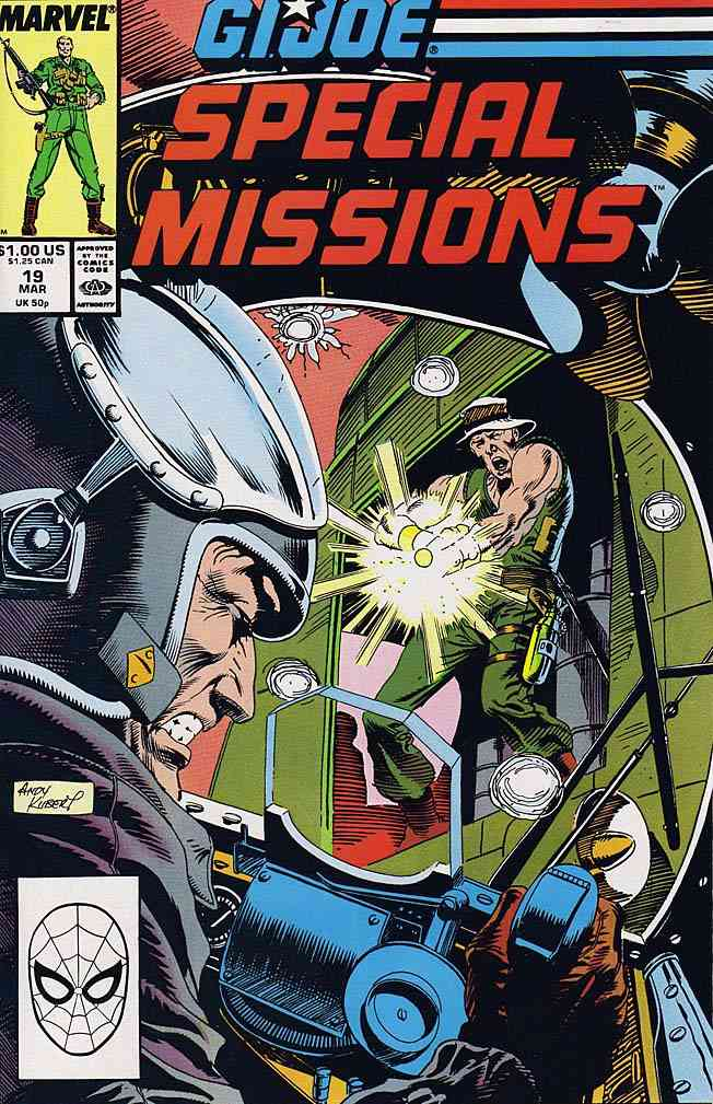 G.I. Joe Special Missions comic issue 19