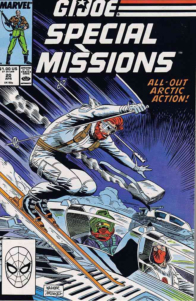 G.I. Joe Special Missions comic issue 20