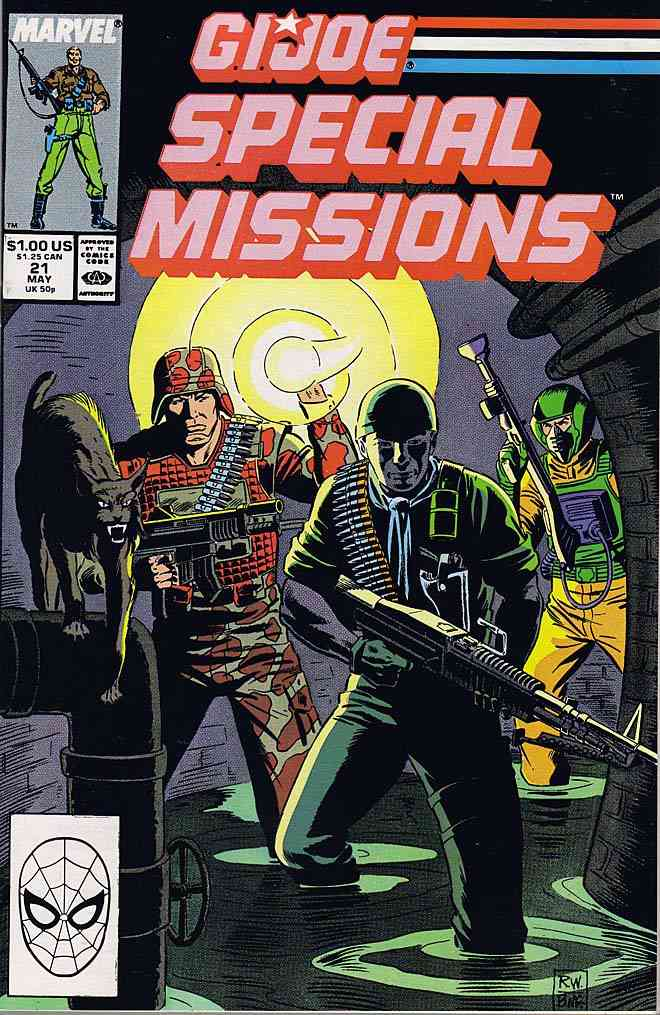 G.I. Joe Special Missions comic issue 21