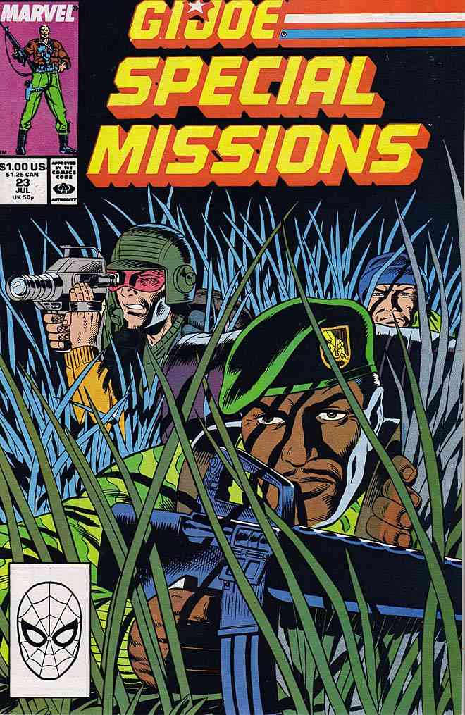 G.I. Joe Special Missions comic issue 23
