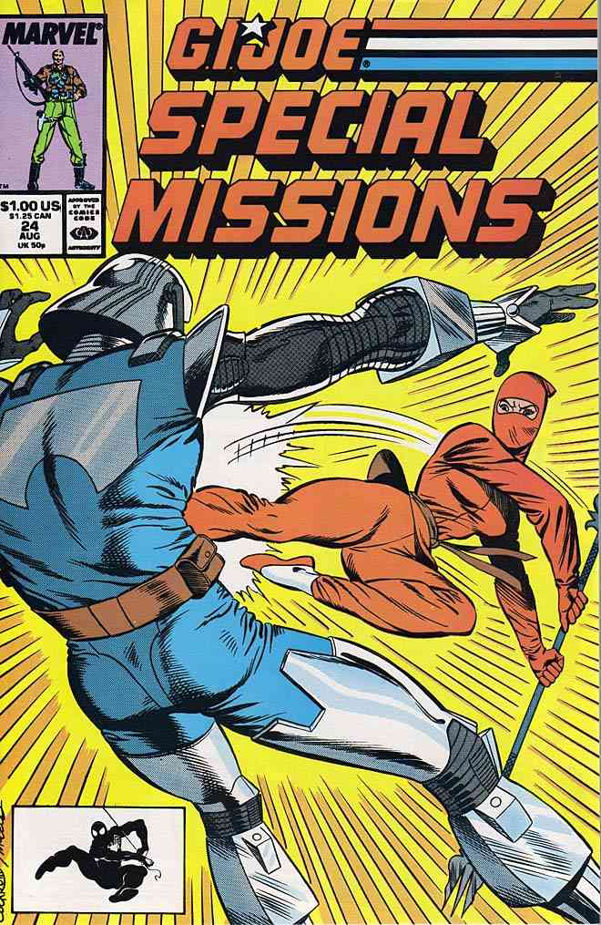 G.I. Joe Special Missions comic issue 24