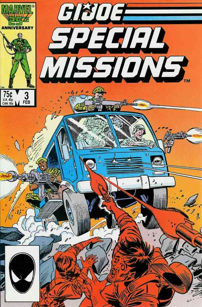 G.I. Joe Special Missions comic issue 3