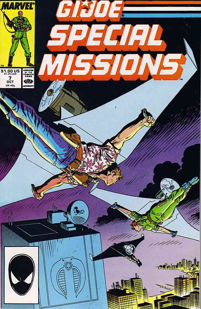 G.I. Joe Special Missions comic issue 7
