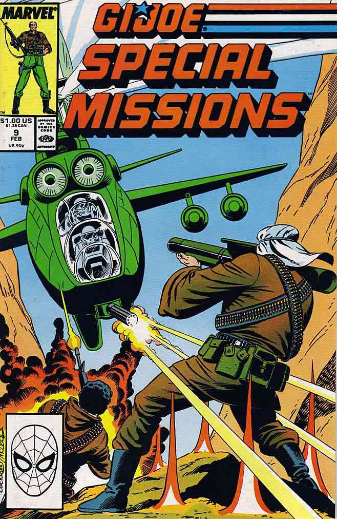 G.I. Joe Special Missions comic issue 9
