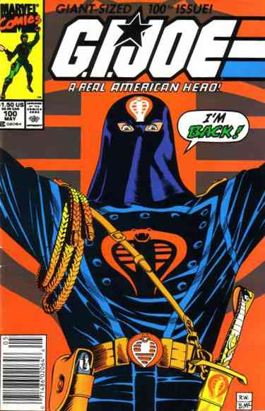 G.I. Joe, a Real American Hero comic issue 100