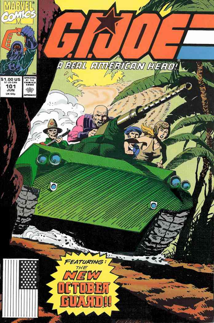 G.I. Joe, a Real American Hero comic issue 101
