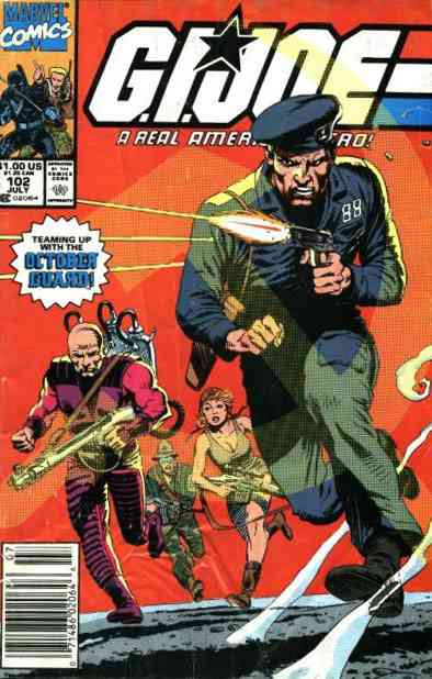 G.I. Joe, a Real American Hero comic issue 102