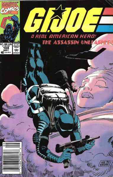 G.I. Joe, a Real American Hero comic issue 104