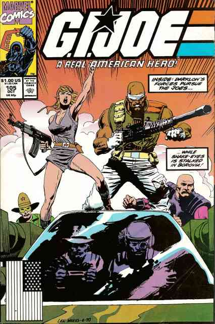 G.I. Joe, a Real American Hero comic issue 105