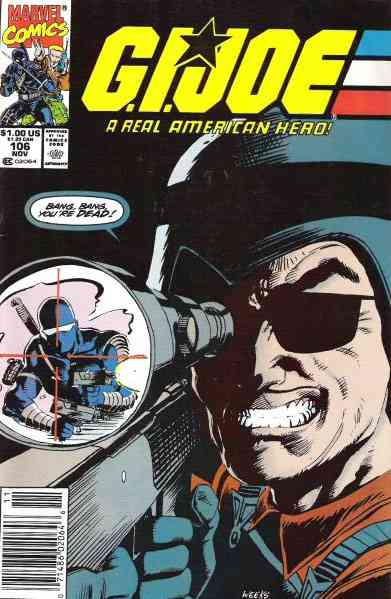 G.I. Joe, a Real American Hero comic issue 106