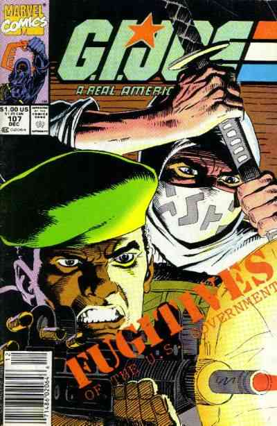 G.I. Joe, a Real American Hero comic issue 107