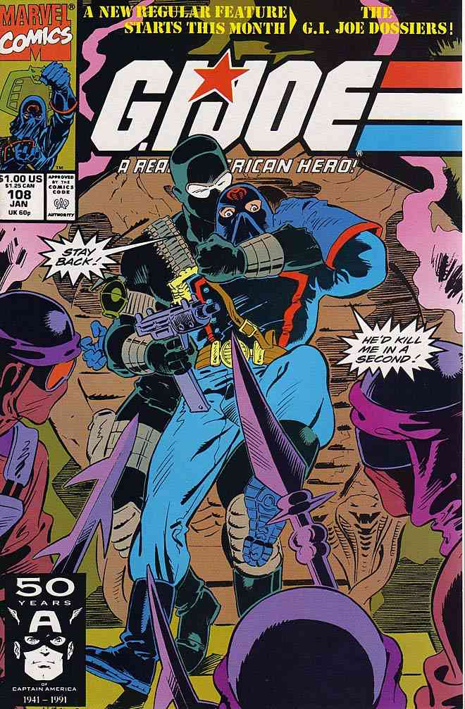 G.I. Joe, a Real American Hero comic issue 108