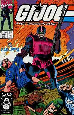 G.I. Joe, a Real American Hero comic issue 110