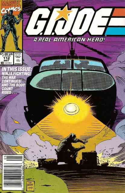 G.I. Joe, a Real American Hero comic issue 112