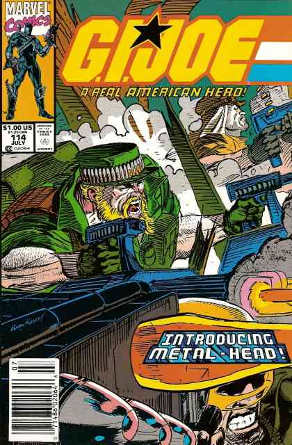 G.I. Joe, a Real American Hero comic issue 114