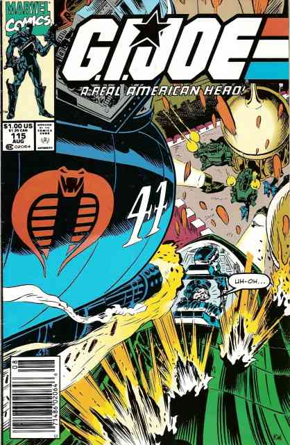 G.I. Joe, a Real American Hero comic issue 115